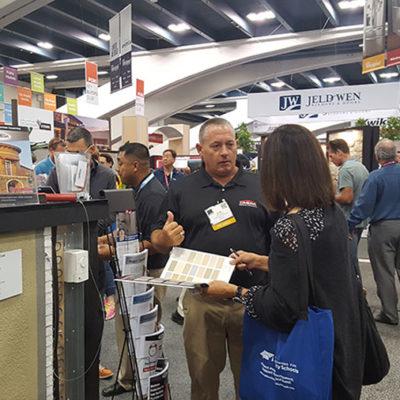 Omega Products International tradeshow